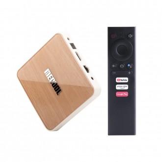 Смарт ТВ приставка Mecool KM6 Deluxe (4GB/32GB)