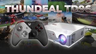 Лучшая четкость и резкость для игр на 1LCD ThundeaL TD96, Xbox One S!